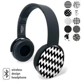 Bluetooth ワイヤレス イヤホン ヘッドホン ヘッドフォン ブルートゥース ゲーミング ヘッドセット デザイン 重低音 プリント ガジェット モノクロ 白黒 スタイリッシュ コアラ プレゼント ギフト