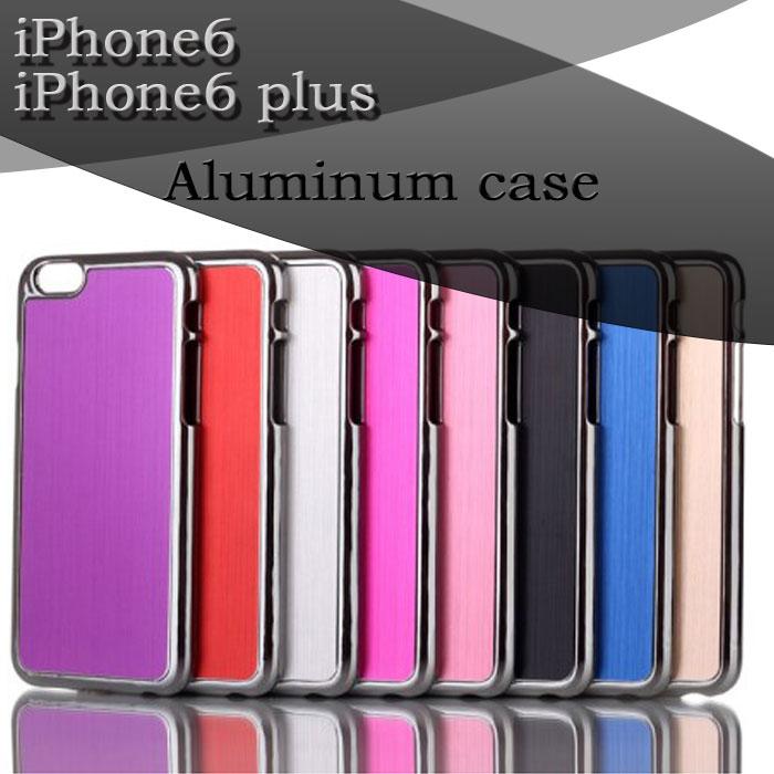 【 iPhone6 iPhone6plus ケース 】アルミ ケース 大人 ビジネスマン シンプル で かっこいい クール 大人気 ケース ! 金属 スタイリッシュ アイフォン 6 バンパー
