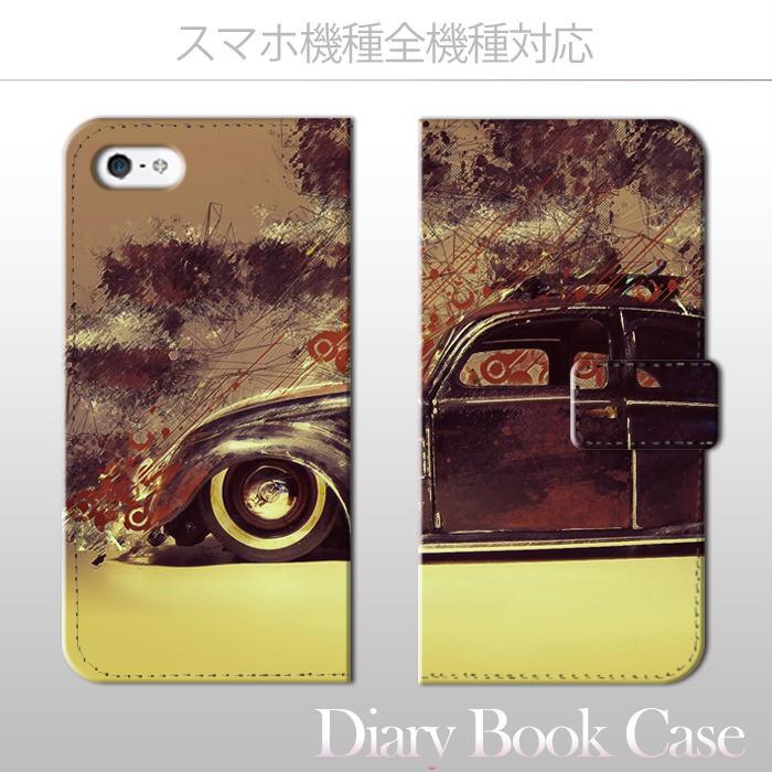 【送料無料 】 全機種対応 手帳型 iPhone7 iPhone6s スマホケースXperia X Z5 SO-04H SO-01H SO-02H SO-01G Galaxy s7 edge SC-02H Disney mobile DM-02H DM-01H SH-04H F-03H volkswagen ワーゲン フォルックス オールド ビンテージ お洒落 便利 な book case 型