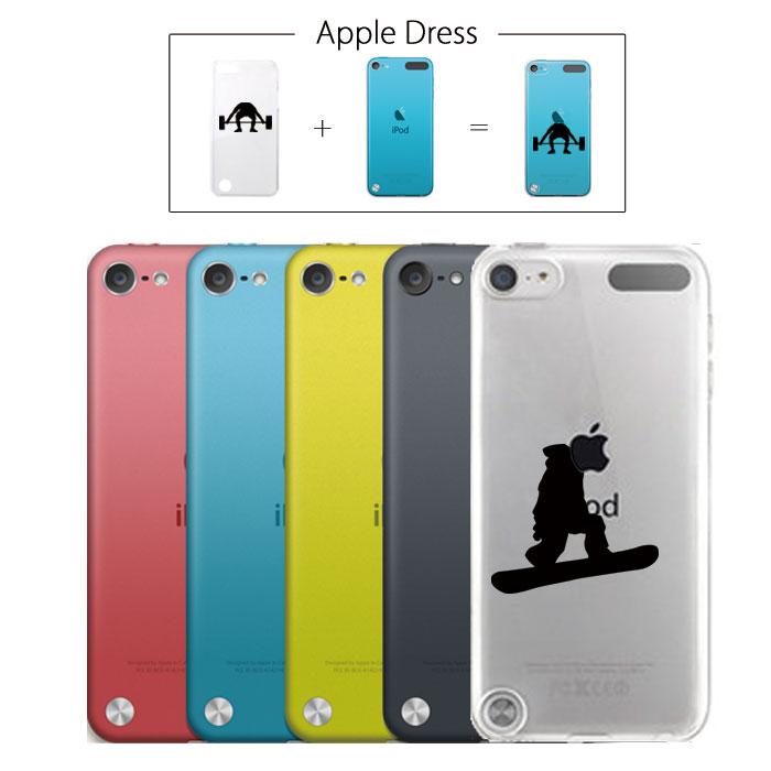 【 iPod touch 5 】 アップル ドレス ボード スノーボード キッカー フライングV パイプ ブーツ ウエア バートン フラット キャンバー スポーツ リンゴマーク iPhone5 アイフォン アイフォーン Apple iPad mini iMac MacBook savi00005t