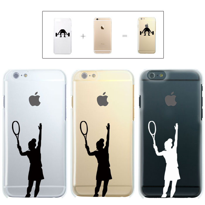 iPhone7 ケース iphone7 Plus ケース iphone6s ケース iphone6 Plus ケース クリアタイプ アイフォン6s アップル ドレス テニス ラケット スマッシュ イラスト アニメ アニオタ 秋葉原 東京 ウエア スポーツ リンゴマーク iPhone6s アイフォン アイフォーン Apple savi00006