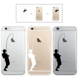 a2029f09e3 iphone7 ケース iphone7 Plus ケース iphone6s ケース iphone6 Plus ケース クリアタイプ アップル ドレス  釣り フィッシュ