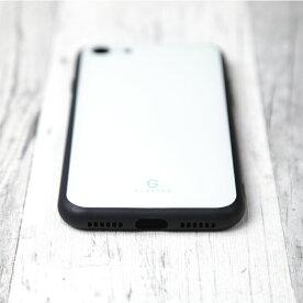 2019新作スマホケーススリムガラス耐衝撃強化ガラスiPhoneケースTPUハードケース光沢カラー赤緑黄色青紫ベージュブラックホワイトモノクロiphone8ケースiPhonexケースiPhone7iPhone6s流行トレンドGLACIAS