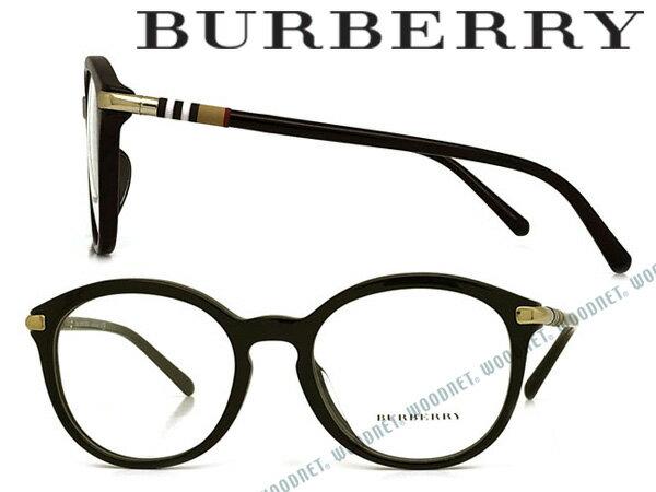 BURBERRY メガネフレーム バーバリー メンズ レディース ブラック 眼鏡 0BE-2264F-3001 ブランド