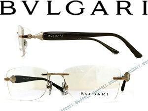 【人気モデル】BVLGARI メガネフレーム 眼鏡 ブルガリ ゴールド 縁無し/フチ無し ツーポイント型 めがね 0BV-2190B-2014 ブランド/メンズ&レディース/男性用&女性用/度付き・伊達・老眼鏡・カラー