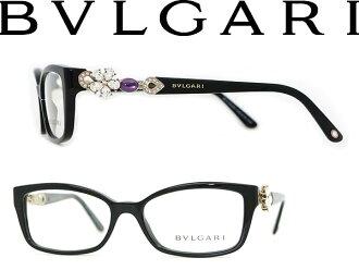 안경 불가리 블랙×브론즈 BVLGARI 안경 프레임 안경 0 BV-4058 B-501 브랜드/레이디스/여성용/도 첨부・다테・돋보기・칼라・PC용 PC안경 렌즈 교환 대응/렌즈 교환은 6,800엔~