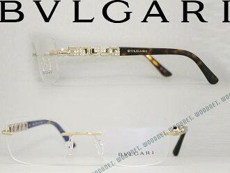 BVLGARI 불가리 안경 프레임 안경 샴페인 골드 테 한 しめがね BV2184B-278 브랜드/남성 및 여성용/남성용 및 여성용/순위/다테/안경/컬러/컴퓨터 PC 안경 렌즈 교환 가능