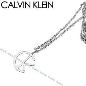 CALVIN KLEIN カルバンクライン メンズ&レディース シルバー ネックレス KJ6DMP000100/チョーカー/ペンダント ブランド