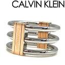 CALVIN KLEIN 指輪 カルバンクライン レディース シルバー×ゴールド リング KJBDPR2001 ブランド