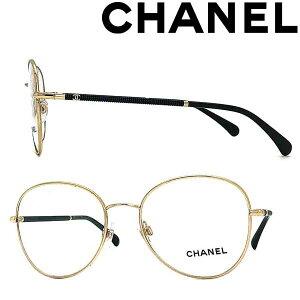 CHANEL メガネフレーム シャネル レディース ゴールド×ブラック 眼鏡 0CH-2178-C125 ブランド