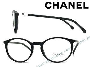 CHANEL メガネフレーム シャネル レディース ブラック 眼鏡 0CH-3372-1026 ブランド