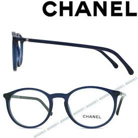 CHANEL メガネフレーム シャネル レディース クリアネイビー 眼鏡 0CH-3372-C503 ブランド