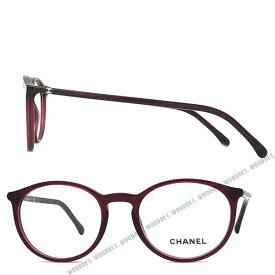 CHANEL メガネフレーム シャネル レディース クリアワインレッド 眼鏡 0CH-3372-C539 ブランド