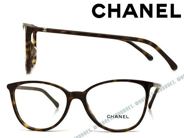 CHANEL メガネフレーム シャネル レディース ダークマーブルブラウン 眼鏡 0CH-3373A-C714 ブランド