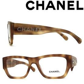 CHANEL メガネフレーム シャネル レディース マーブルブラウン 眼鏡 0CH-3387-1660 ブランド