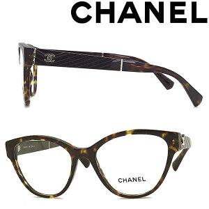 CHANEL メガネフレーム シャネル レディース マーブルブラウン 眼鏡 0CH-3391-C714 ブランド