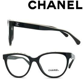 CHANEL メガネフレーム シャネル レディース ブラック×ベージュ 眼鏡 0CH-3394-C534 ブランド