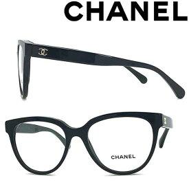 CHANEL メガネフレーム シャネル レディース ブラック 眼鏡 0CH-3394-C622 ブランド