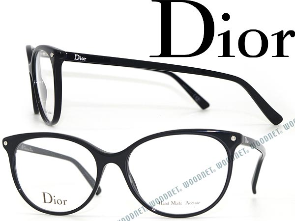 メガネフレーム Christian Dior ブラック クリスチャン・ディオール CD 眼鏡 めがね CRD-CD3284-807 ブランド/メンズ&レディース/男性用&女性用/度付き・伊達・老眼鏡・カラー・パソコン用PCメガネレンズ交換対応/レンズ交換は6,800円〜