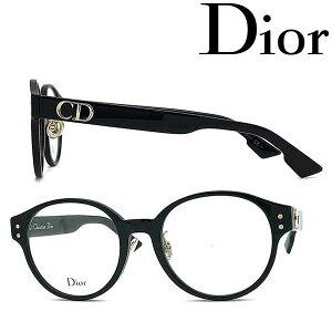 Christian Dior メガネフレーム クリスチャンディオール レディース ブラック 眼鏡 CRD-DIOR-CD-3F-2LF ブランド
