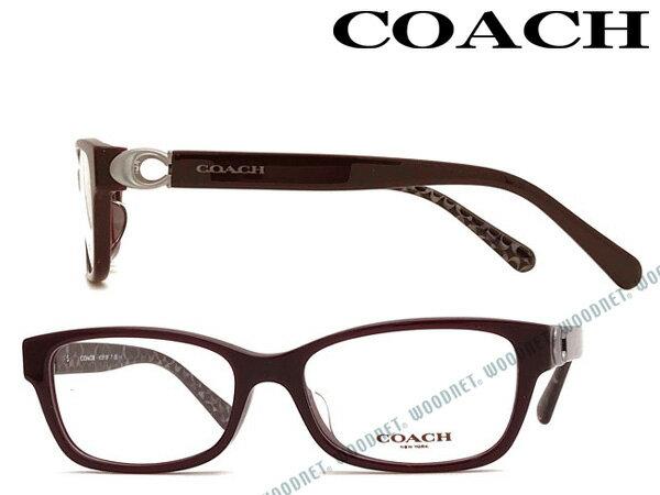 COACH メガネフレーム コーチ パープル メンズ&レディース 眼鏡 HC6119F-5509 ブランド