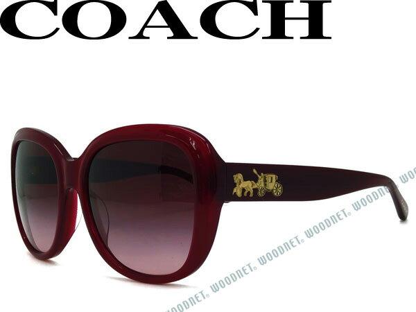 COACH サングラス コーチ グラデーションパープル HC8207F-54508H ブランド/レディース/女性用