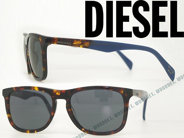 DIESEL ディーゼル サングラス ブラック DL-0162-55V ブランド/メンズ&レディース/男性用&女性用/紫外線UVカットレンズ/ドライブ/釣り/アウトドア/おしゃれ