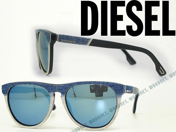 DIESEL ディーゼル サングラス ブルーミラー DL-0168-92X ブランド/メンズ&レディース/男性用&女性用/紫外線UVカットレンズ/ドライブ/釣り/アウトドア/おしゃれ