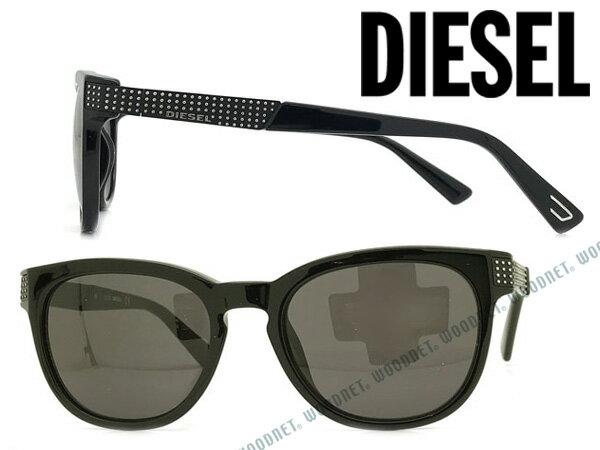 DIESEL ディーゼル ブラック サングラス メンズ&レディース DL-0237-01A