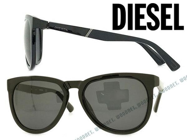 DIESEL ディーゼル ブラック サングラス メンズ&レディース DL-0263-01A