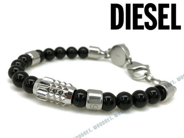 DIESEL ブレスレット ディーゼル メンズ&レディース ブラック ブレスレット DX0847040 ブランド