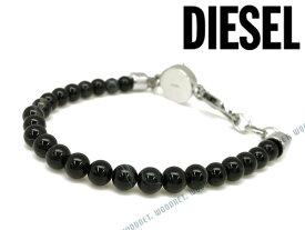 DIESEL ブレスレット ディーゼル メンズ&レディース ブラック ブレスレット DX0848040 ブランド