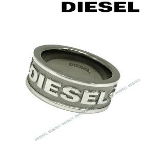 DIESEL リング・指輪 ディーゼル メンズ&レディース シルバー×マットシルバー DX1108060 ブランド