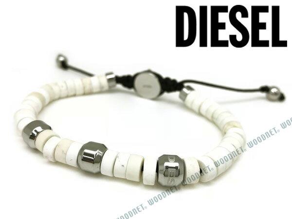 DIESEL ブレスレット ディーゼル メンズ&レディース ホワイト DX1120040 ブランド