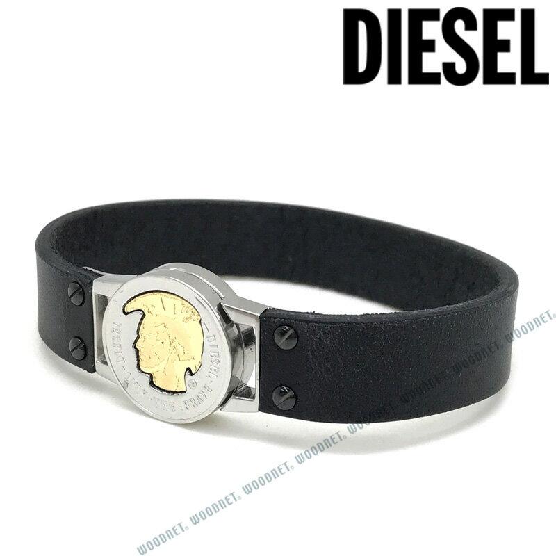 DIESEL ブレスレット ディーゼル メンズ&レディース ブラック DX1125040 ブランド