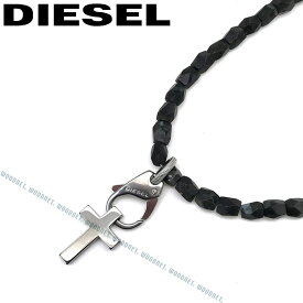 DIESEL ネックレス ディーゼル メンズ&レディース ブラック ネックレス DX1162060 ブランド