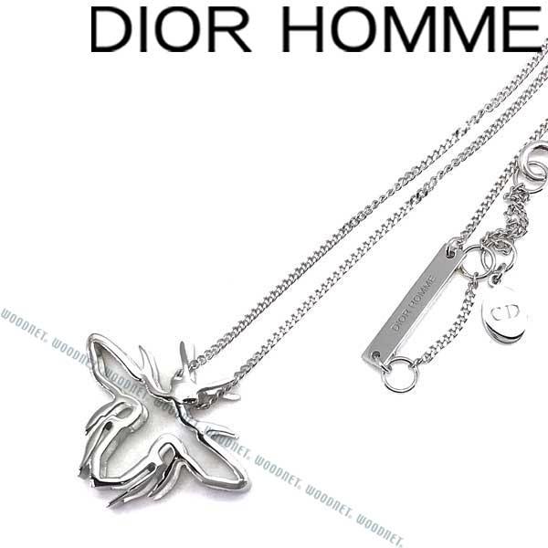 DIOR HOMME ネックレス ディオールオム メンズ BEE シルバー D21335HOM-000 ブランド