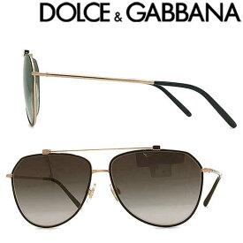 DOLCE&GABBANA サングラス UVカット ドルチェ&ガッバーナ メンズ&レディース グラデーションブラック ティアドロップ 0DG-2190-12968G ブランド