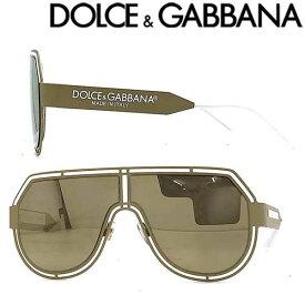 DOLCE&GABBANA サングラス UVカット ドルチェ&ガッバーナ メンズ&レディース ゴールドミラー 0DG-2231-1331-5A ブランド