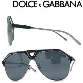 DOLCE&GABBANA サングラス ドルチェ&ガッバーナ メンズ&レディース UVカット ブラック ティアドロップ 0DG-2257-1277-6G ブランド