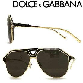 DOLCE&GABBANA サングラス ドルチェ&ガッバーナ メンズ&レディース UVカット ブラック ティアドロップ 0DG-2257-1334-87 ブランド