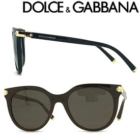 DOLCE&GABBANA サングラス UVカット ドルチェ&ガッバーナ メンズ&レディース ブラック 0DG-6117-501-87 ブランド