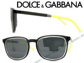 DOLCE&GABBANA D&G サングラス UVカット ドルチェ&ガッバーナ メンズ&レディース ブラック DG6115-31606G ブランド