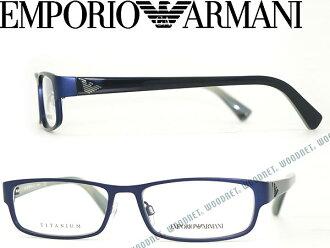 供供emporioarumani EMPORIO ARMANI眼鏡墊子深藍眼鏡架子眼鏡EA-1008TD-3019 WN0054名牌/人&女士/男性使用的&女性使用的/度有,供伊達、老花眼鏡、彩色·個人電腦使用的PC眼鏡透鏡交換對應