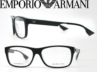 供供眼鏡EMPORIO ARMANI emporioarumaniburakkumeganefuremu眼鏡EMP-EA-9680-263名牌/人&女士/男性使用的&女性使用的/度有,供伊達、老花眼鏡、彩色·個人電腦使用的PC眼鏡透鏡交換對應