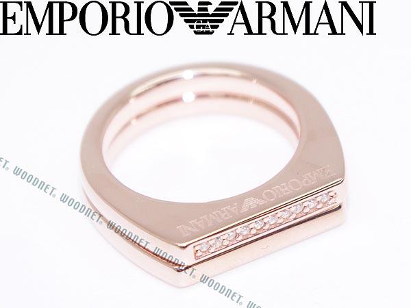 EMPORIO ARMANI 2連リング・指輪 ゴールド シルバー925 エンポリオアルマーニ アクセサリー EG3215221 ブランド/メンズ&レディース/男性用&女性用