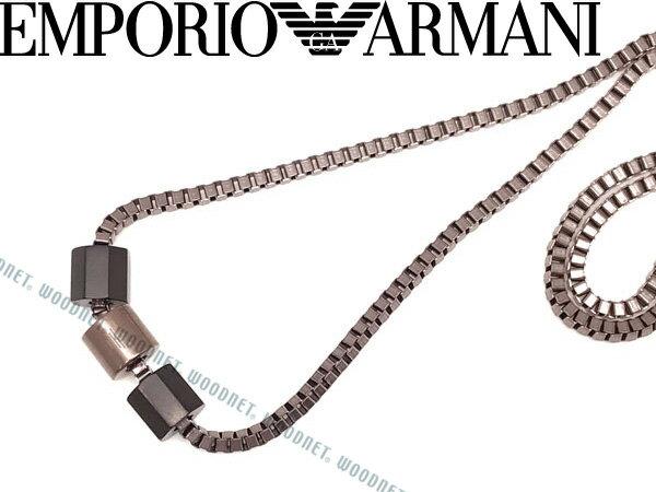 EMPORIO ARMANI エンポリオアルマーニ ネックレス メンズ&レディース ブラウン EGS2433001