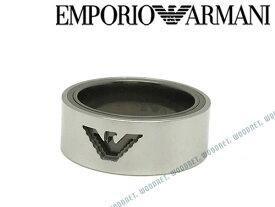 EMPORIO ARMANI リング・指輪 エンポリオアルマーニ メンズ&レディース シルバー×ガンメタル EGS2470040 ブランド