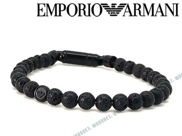 EMPORIO ARMANI ブレスレット エンポリオアルマーニ ブラック EGS2479001 ブランド