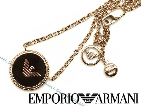 EMPORIO ARMANI ネックレス エンポリオアルマーニ メンズ&レディース ゴールド ネックレス EGS2533221